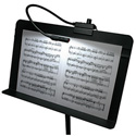 Littlite MS-12A-LED Music Stand Light with No Power Supply. 12 Inch Gooseneck