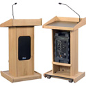 Admiral Lectern With Reading Light and Liberty Sound System