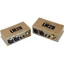 Whirlwind LM2U Balanced to Unbalanced Converter