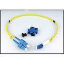 LYNX Technik LC/SC DUP - Dual LC to SC Fiber Connector Adapter Kit