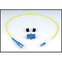 LYNX Technik LC/SC SIM - LC to SC Fiber Connector Adapter Kit