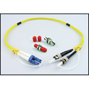 LYNX Technik LC/ST Duplex - Dual LC to ST Fiber Connector Adapter Kit