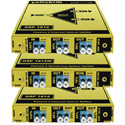 LYNX Technik Yellobrik OSP 1812 2 Channel Fiber Splitter - 50/50