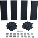 Primacoustic London 8 Room Kit Black