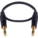 LoProfile StarQuad 1/4 Inch Stereo Male to Male 3 Foot