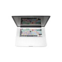 Transparent Apple Final Cut Pro LogicSkin for MacBook Pro/ MacBook Air/ MacBook