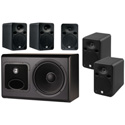 JBL LSR Powered Studio Subwoofer/5 Monitor Surround Sound System