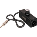 Rapco LTIBLOX Laptop Interface - 3.5mm Line Level to XLR Mic Level Converter