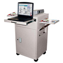 Luxor LMC2 Multimedia Cart with Locking Cabinet
