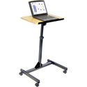 Luxor LX9128 Adjustable Mobile Lectern