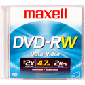 Maxell Rewritable DVD-RW 4.7 GB