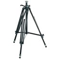 Manfrotto 028B Black Aluminum Studio Pro Triman Tripod w/Geared Column