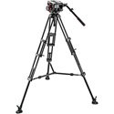 Manfrotto 509 HD Head with 545B Tripod and Midlevel Spreader