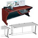 Middle Atlantic LD-6430DC-RA LCD Monitoring Desk w/Right Bay - Dark Cherry