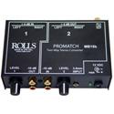 Rolls MB15B 3.5mm / RCA / XLR ProMatch Converter