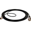 Belden Miniature Coax Digital  BNC Male to BNC Female Cable 3Ft