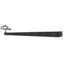 9-Outlets Surge Protector Wallmount PowerBar with 3ft Cord