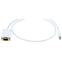 Mini-DisplayPort to VGA Cable White 3 Foot