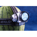 Melon Light Head Mountable 25 White LED Flashlight