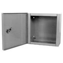 Millbank 10124-LC1 10x12x4 Inch Indoor Hinged Cover Panel Enclosure