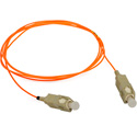 1-Meter 62/125 Fiber Optic Patch Cable Multimode Simplex SC to SC - Orange