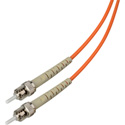 1-Meter 62/125 Fiber Optic Patch Cable Multimode Simplex ST to ST - Orange