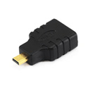 Micro-HDMI Male (Type D) to HDMI Female (Type A) Port Saver Adapter