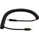 3 Foot Coiled Stereo Mini Plug to Stereo Mini Jack Audio Cable