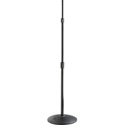 Atlas MS43E Fully Adjustable 3 Section Ebony Microphone Stand