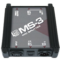 Pro Co Sound MS3 3-Way Microphone Splitter Box
