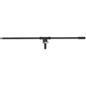 On-Stage 35 Inch Fixed Top Mount Euro Style Boom Black