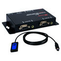 2x1 250MHz VGA Video/Audio Share Switch with Remote Control Cable