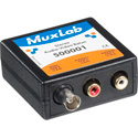 MuxLab 500001 Stereo Audio (RCA) with Video (BNC) Balun