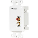 MuxLab 500028-WP-US Stereo Hi-Fi Wall Balun