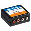 MuxLab 500033 VideoEase Quad Audio Balun