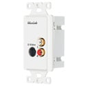 MuxLab 500038-WP-US S-Video Hi-Fi Wall Plate Balun