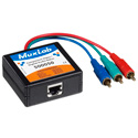 MuxLab 500051 VideoEase Component Video/Digital Audio Balun- F