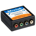 MuxLab 500052 VideoEase Component Video/Analog Audio Balun Male