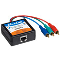 MuxLab 500055 Component Video/IR Pass-Thru Balun F