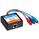 MuxLab 500056 VideoEase Component-Composite Video Balun - Male