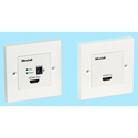 Muxlab 500401-WP HDMI Econo Plus Wall Plate Extender Kit UK