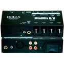 ROLLS MX56c 4 Input Line Mixer with 1/4in 1/8in  XLR and RCA Stereo Line Input