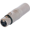 Neutrik NA3F5M XLR 3 Pole Female to XLR 5 Pole Male - Pre-Wired