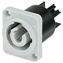 Neutrik NAC3MPB-1 Powercon Receptacle Power Out [Gray]