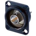 Neutrik NBB75DSIB Receptacle BNC D Style Solder Isolated Black