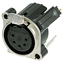 Neutrik NC5FBV-SW 5 Pole Female XLR Receptacle