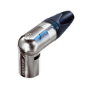 Neutrik NC5MRX Right Angle 5 Pin XLRM - Nickel/Silver