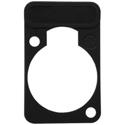 Neutrik DSS-BLACK D-Series XLR Lettering and ID Plate Black