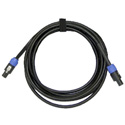 Whirlwind NL4-050 12 AWG NL4 to NL4 Speakon Speaker Cable 50 Ft