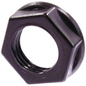 Neutrik NRJ-NUT-B Hexagonal Black Plastic Nut